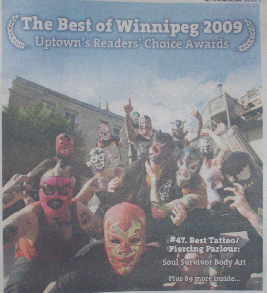 These guys are doin something right, I'm proud to work at Winnipeg's best studio