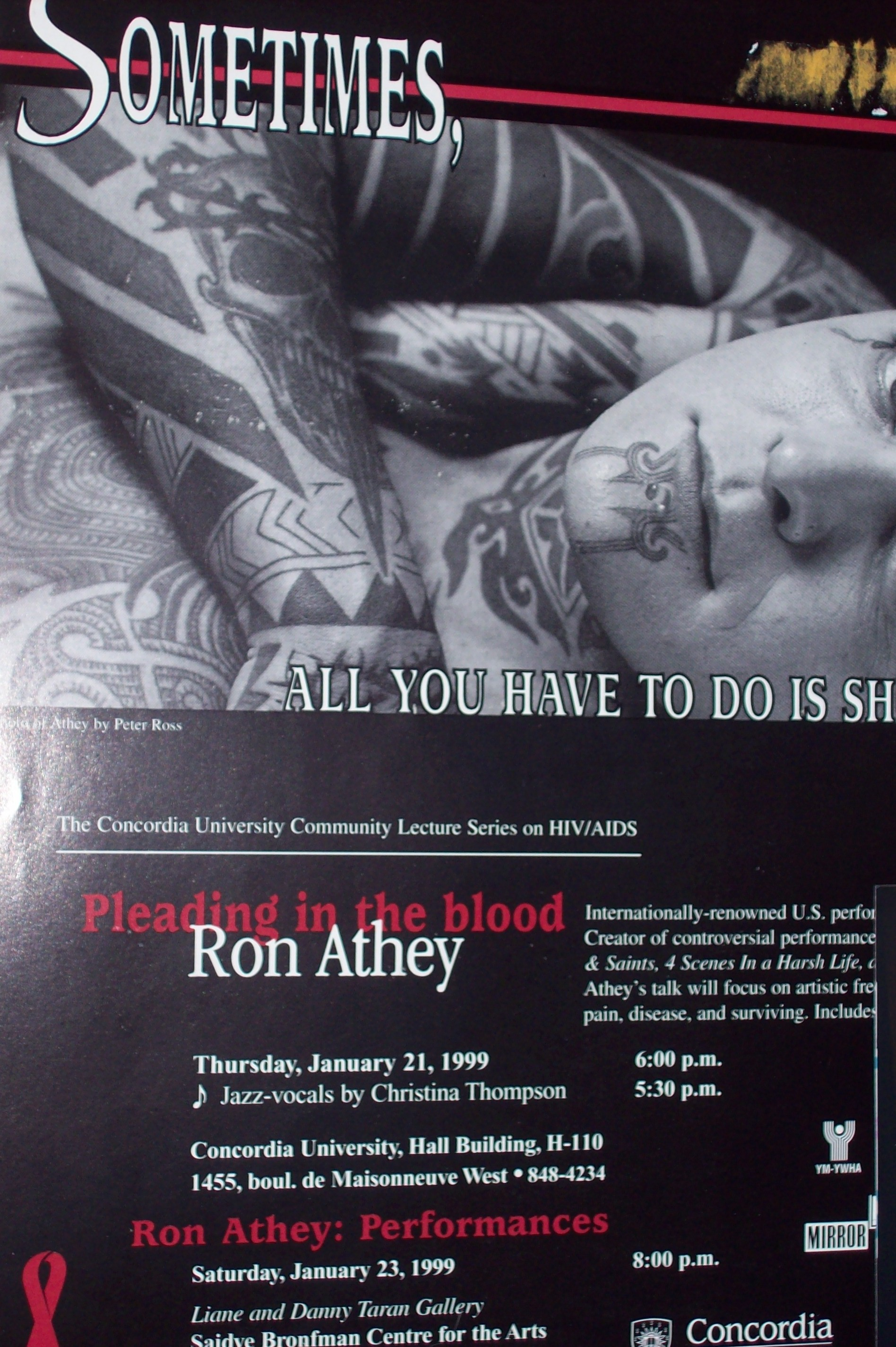 Ron athey solar anus tattoo-7572